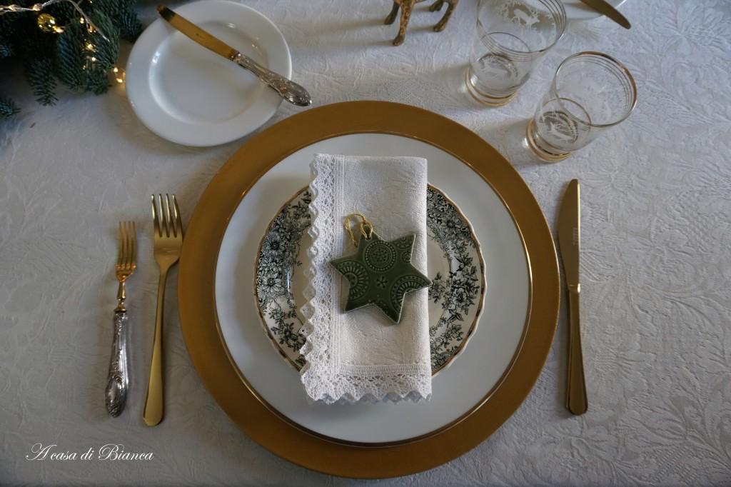 Tavola di Natale a casa di Bianca
