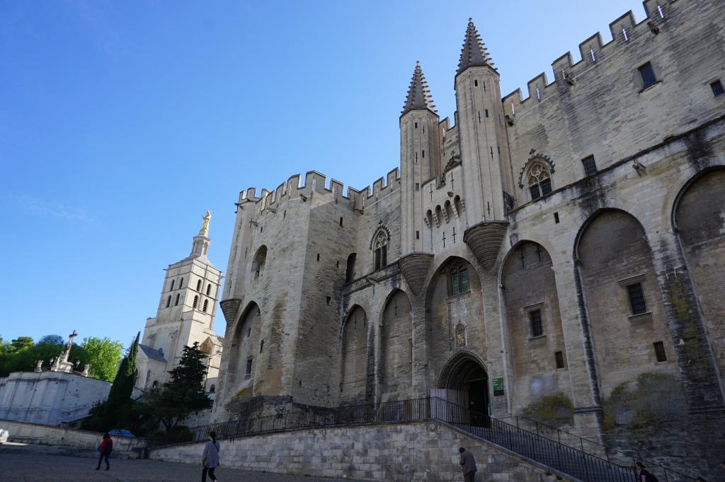 Palazzo dei Papi Avignone Provenza