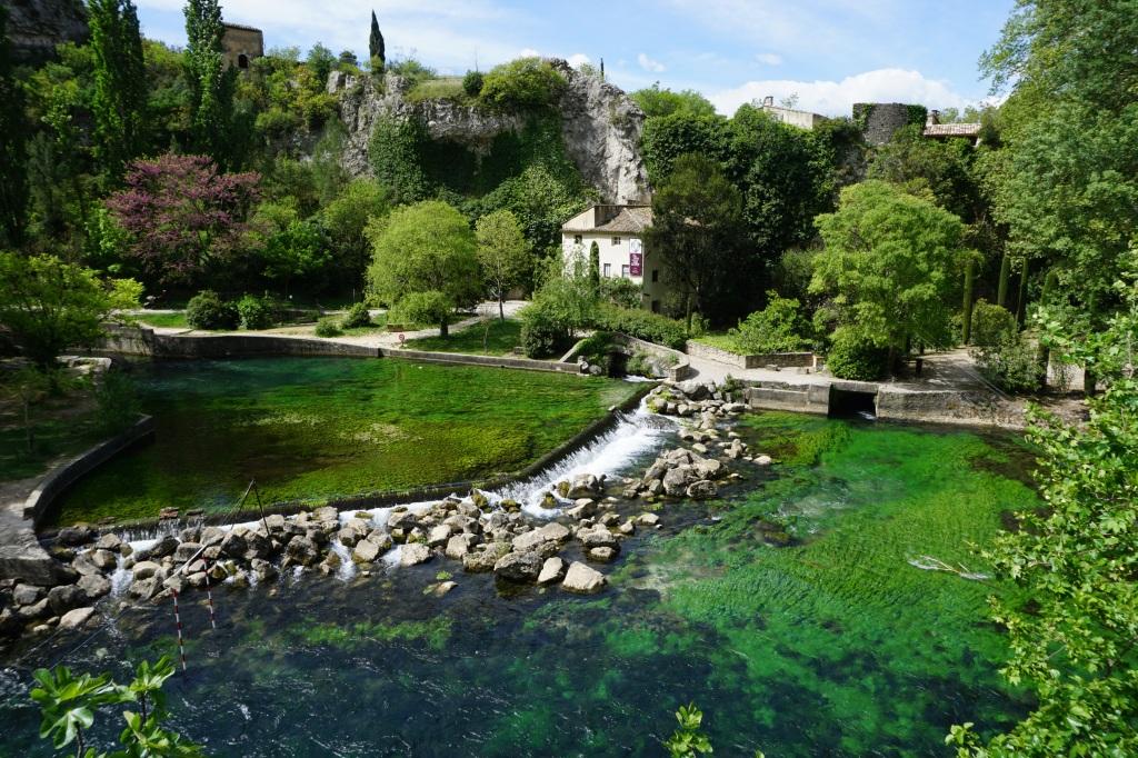 Fontaine de Vaucluse Provenza