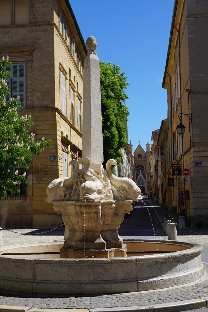 Aix en Provence fontana Provenza
