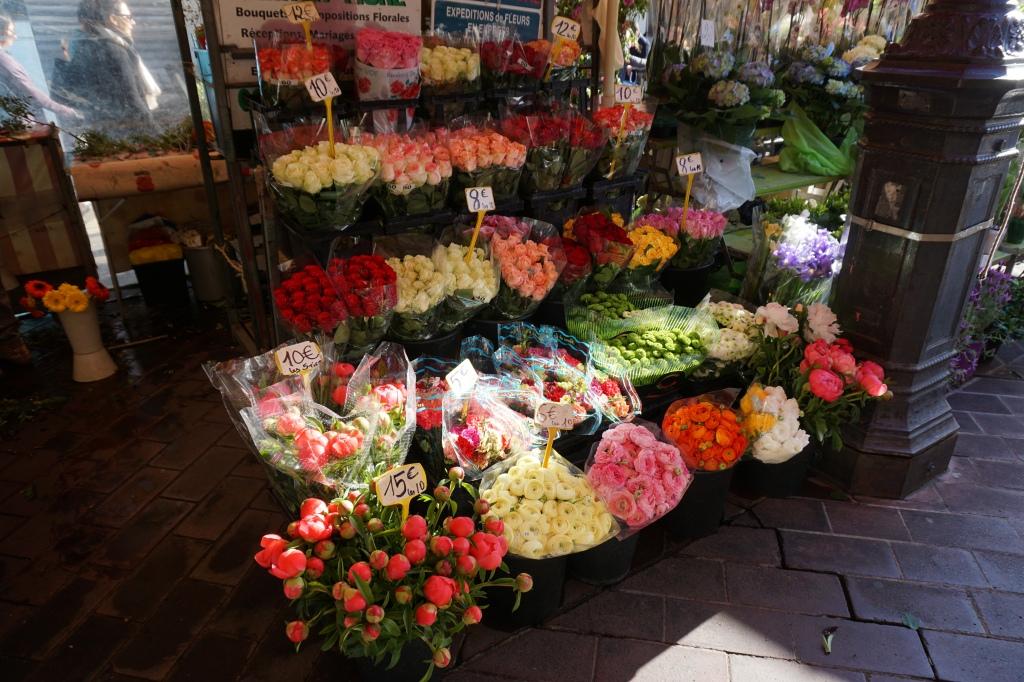 Nizza Costa Azzurra mercato dei fiori