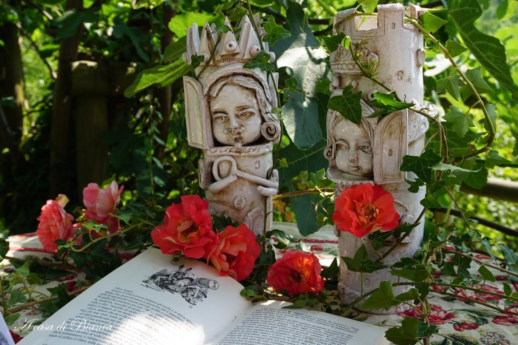 A tavola con Alice nel paese delle meraviglie a casa di Bianca