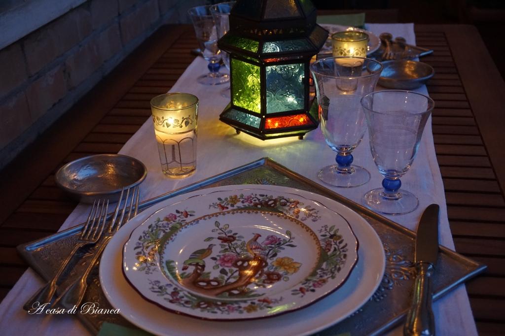 Cena indiana a lume di candela a casa di Bianca