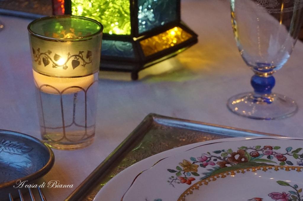 Bicchiere da tè marocchino a casa di Bianca