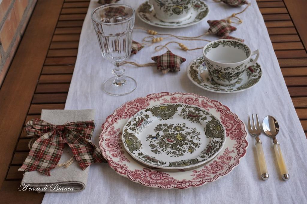 Tea autunnale in giardino a casa di Bianca