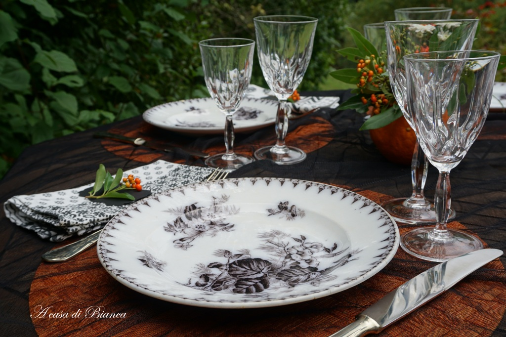 Piatti antichi francesi neri