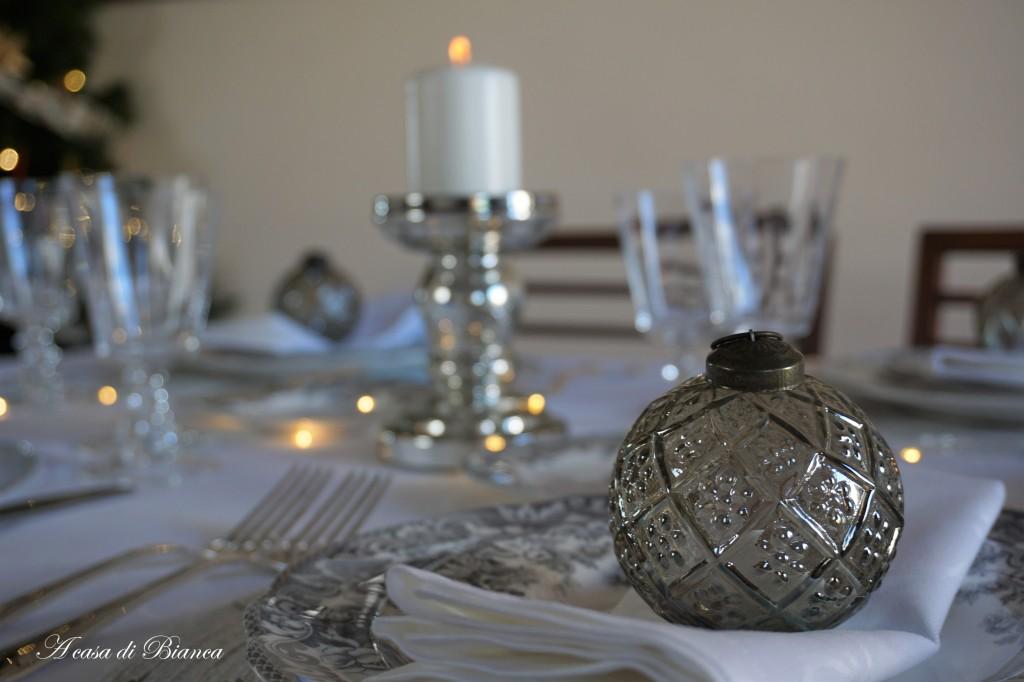 Segnaposto tavola di Natale