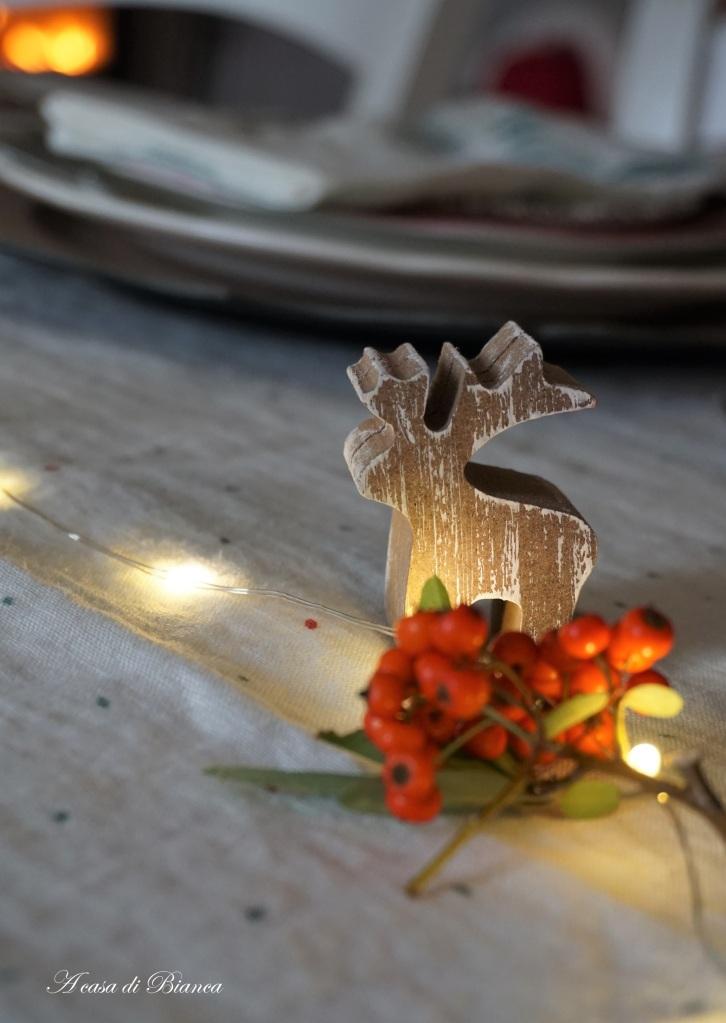 Segnaposto tavola Natale