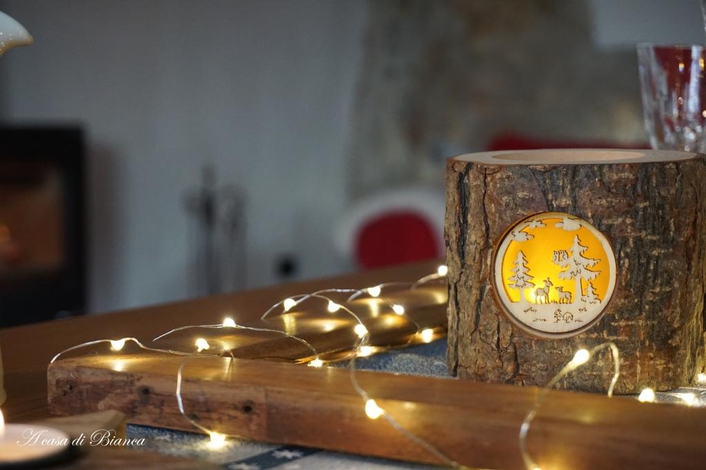 Lucerna in legno Dolfi