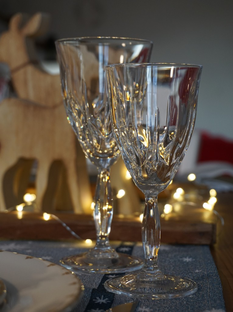 Bicchieri scintillanti