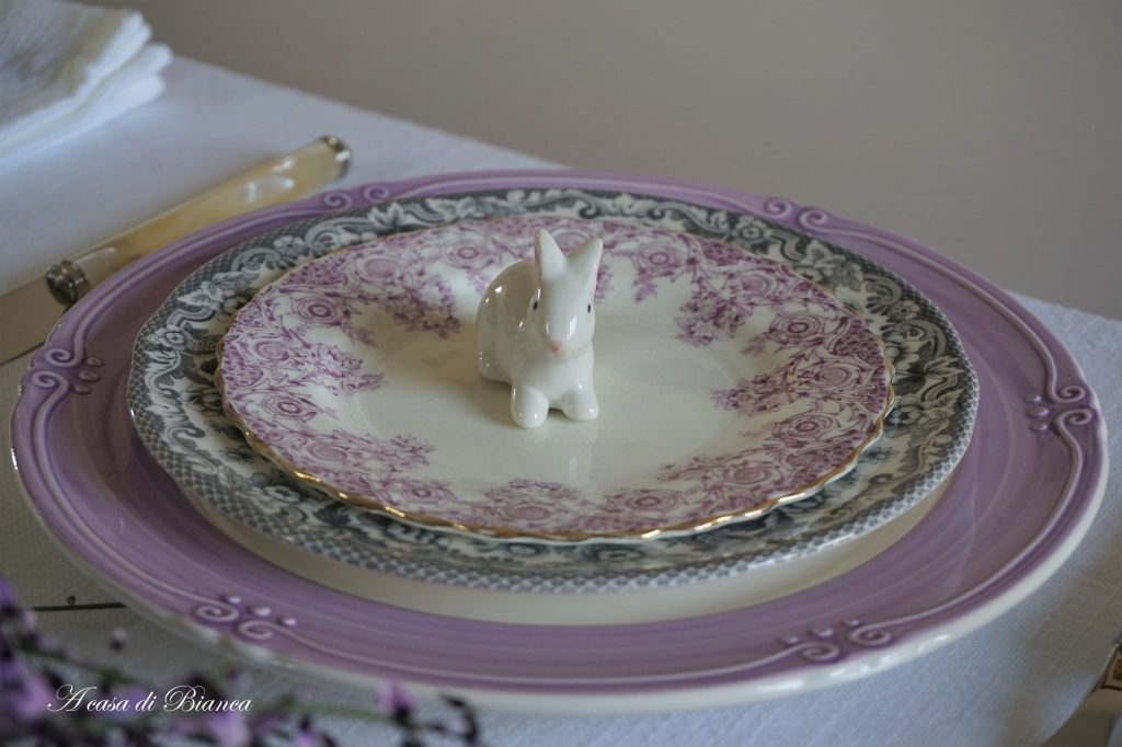 Coniglietto pasquale a casa di Bianca