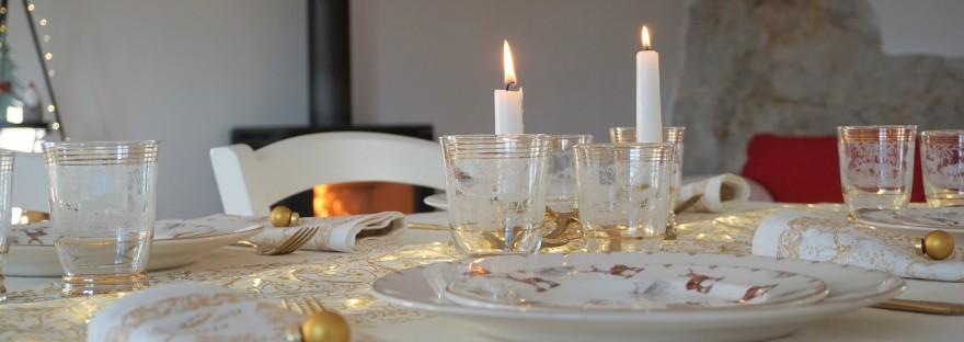 Natale bianco e oro a casa di Bianca