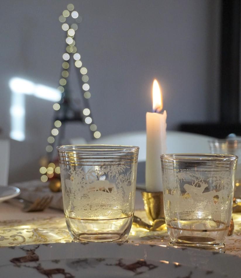 Apparecchiare tavola di Natale